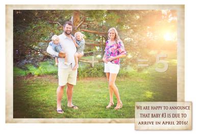 Joe and Annie Thomas Pregnancy Announcement Maternity