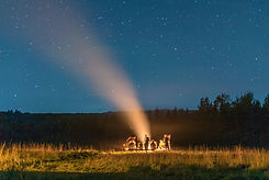Prince Edward Island PEI bonfire community