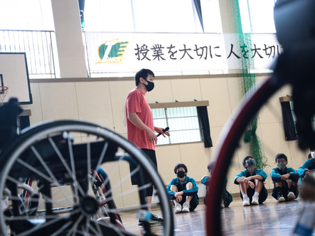 地元企業と連携 パラアスリート交流授業 神奈川県横須賀市岩戸中学校