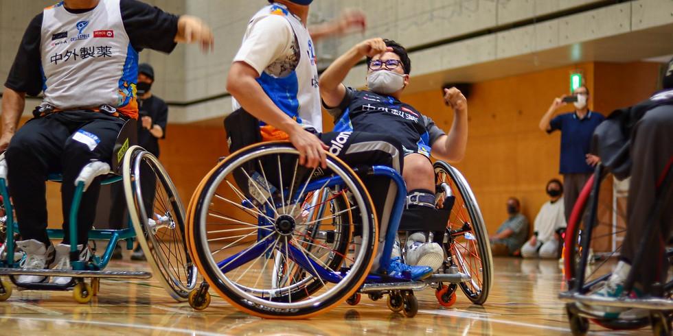 10月3日 CENTERPOLE Wheelchair Basketball Class