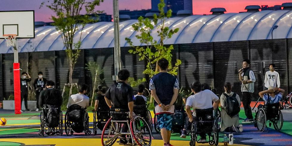 7月25日 CENTERPOLE Wheelchair Basketball Class Water Survival Game
