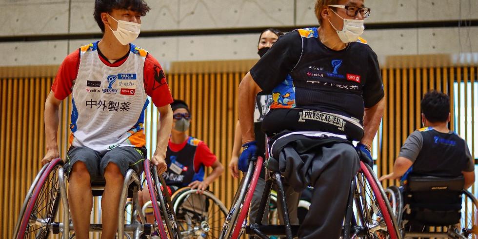 8月9日 CENTERPOLE Wheelchair Basketball Class