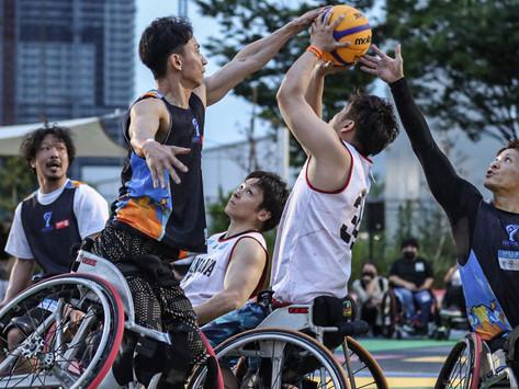 3x3WHEELCHAIR BASKETABALL TOURNAMENT 優勝はTEAM KENJI!!