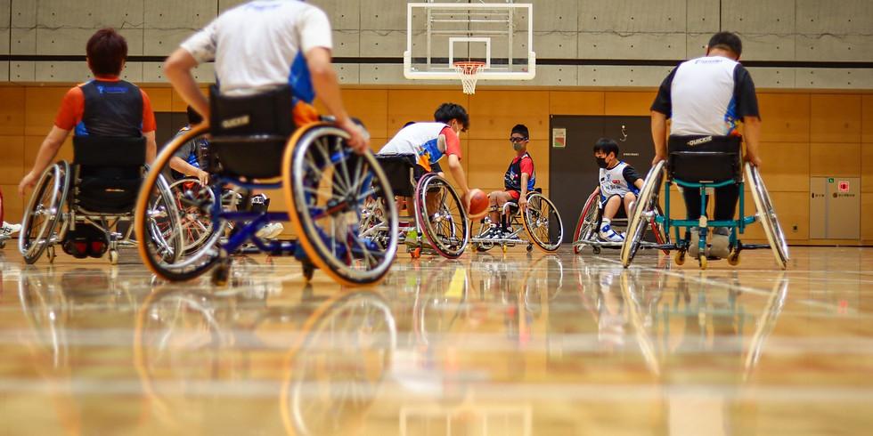 8月15日 CENTERPOLE Wheelchair Basketball Class