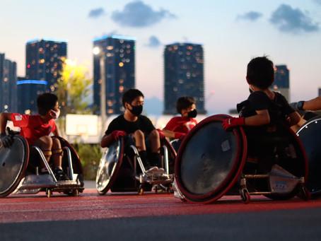新豊洲でパラスポーツ体験コンテンツ提供中