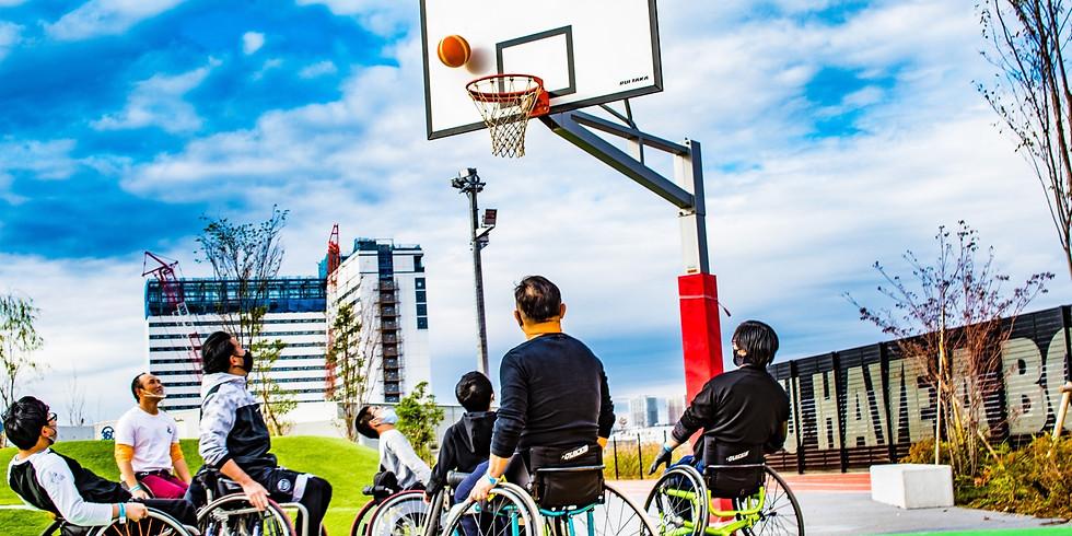 1月17日(日) CENTERPOLE Wheelchair Basketball Class