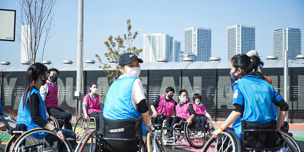 3月21日 CENTERPOLE Wheelchair Basketball Class 【会場変更アナウンス】