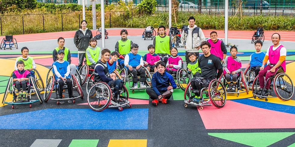 1月10日(日) CENTERPOLE Wheelchair Basketball Class