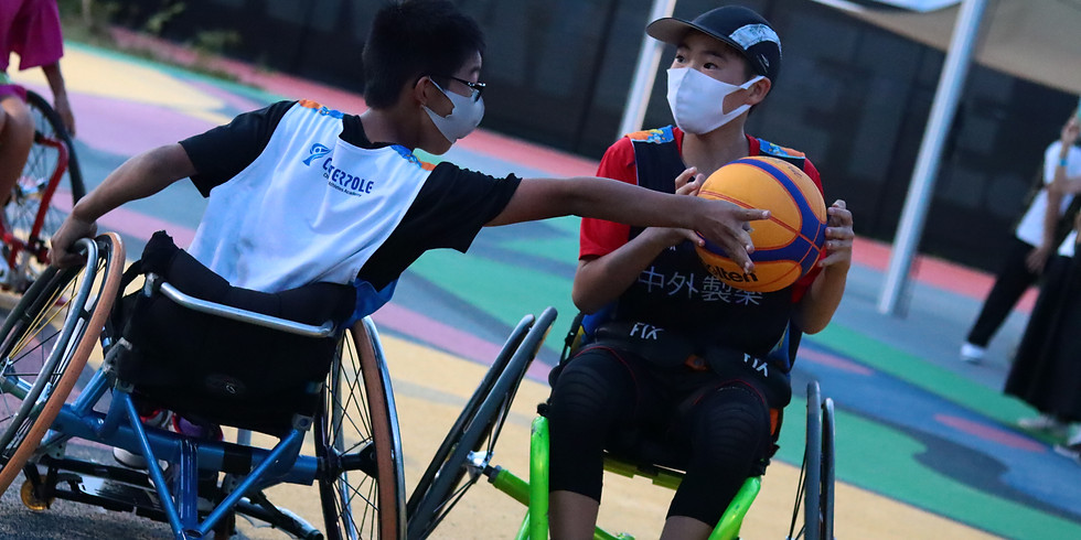 9月11日 CENTERPOLE Wheelchair Basketball Class(午前クラス)