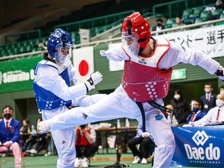 第14回 全日本テコンドー選手権大会兼2021世界テコンドー選手権大会日本代表選手選考会