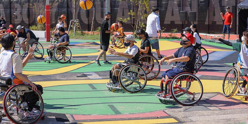 10月9日 CENTERPOLE Wheelchair SportClass