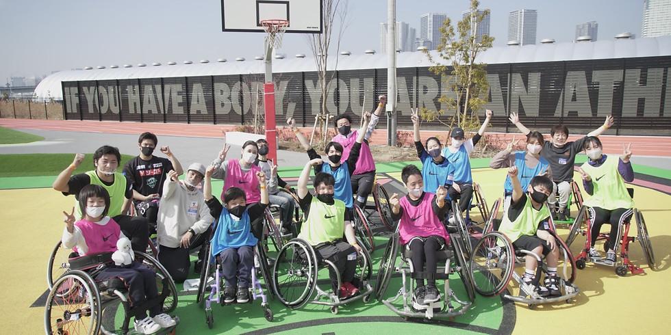 4月18日 CENTERPOLE Wheelchair Basketball Class