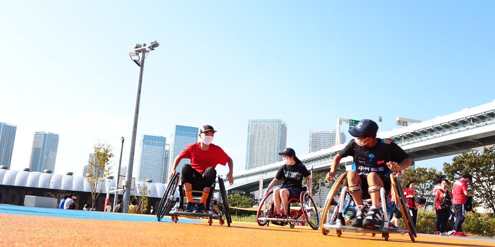 10月17日 CENTERPOLE Wheelchair Basketball Class