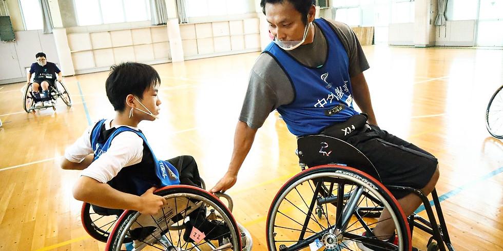 5月2日 CENTERPOLE Wheelchair Basketball Class