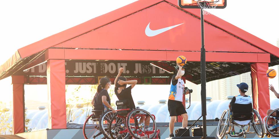 9月5日 CENTERPOLE Wheelchair Water Survival Game