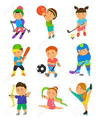 60178602-cartoon-sport-kids-vector-illus