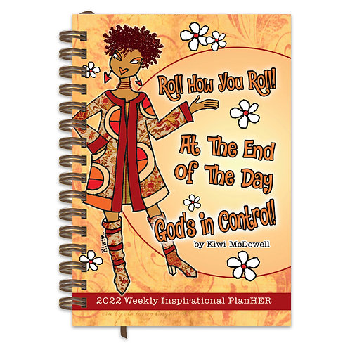 GOD'S IN CONTROL 2022 WEEKLY INSPIRATIONAL PLANNER