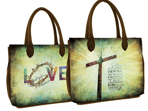 FOR GOD SO LOVED THE WORLD Bible/IPad Cover