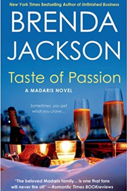 Taste of Passion A Madaris Novel Brenda Jackson