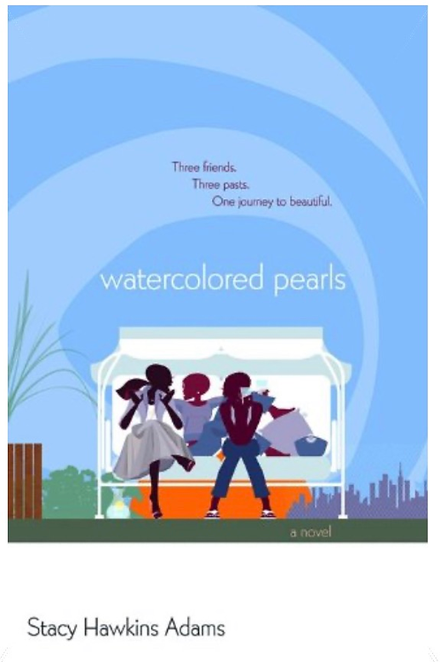 Watercolored Pearls by Stacy Hawkins Adams