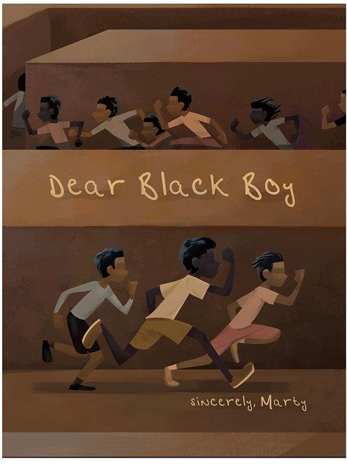 Dear Black Boy Martellus Bennett