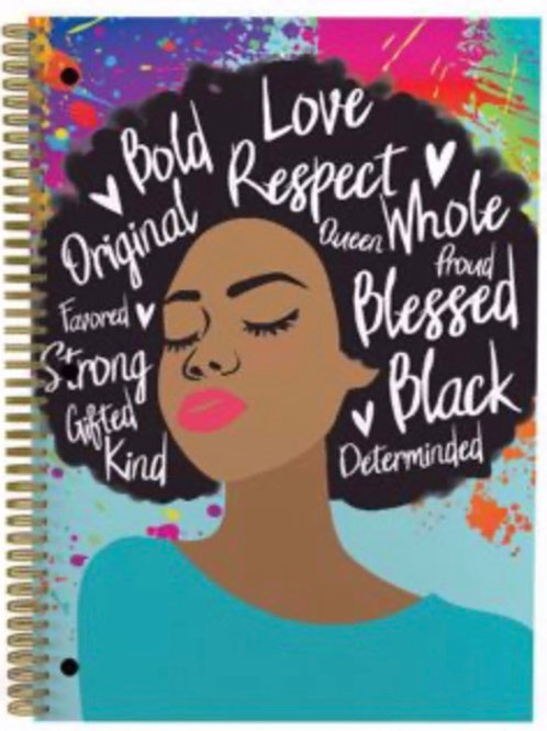 Self Love Large Notebook- Bold Love Respect
