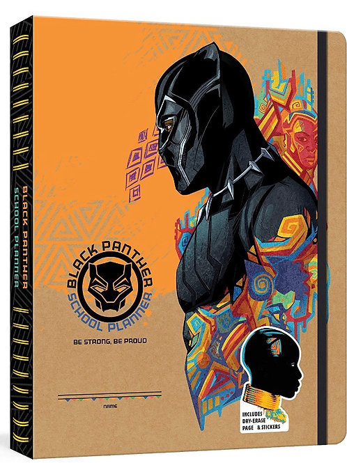 Black Panther School Planner: Be Strong, Be Proud: A Week-at-a-Glance Kid's Plan