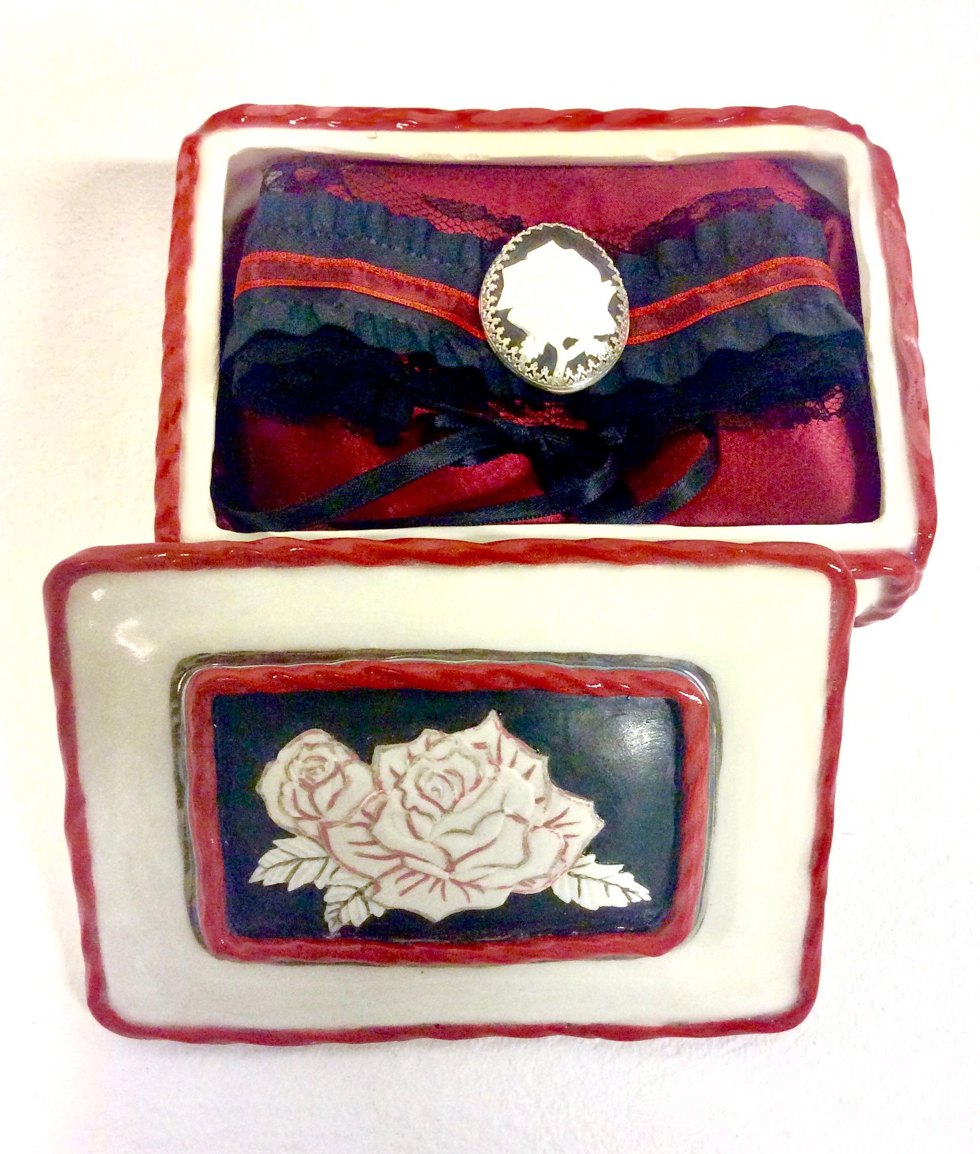 Victorian Jewelry Box w/ Choker