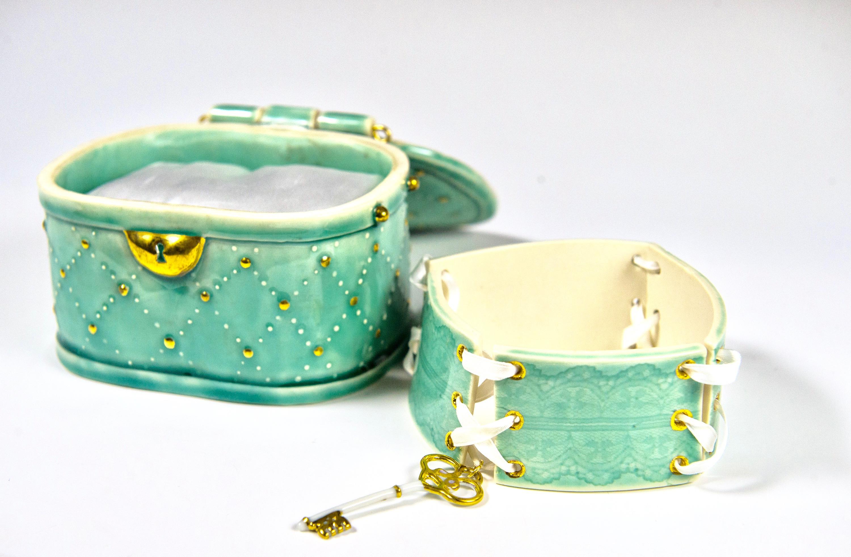 Victorian Jewelry Box & Choker