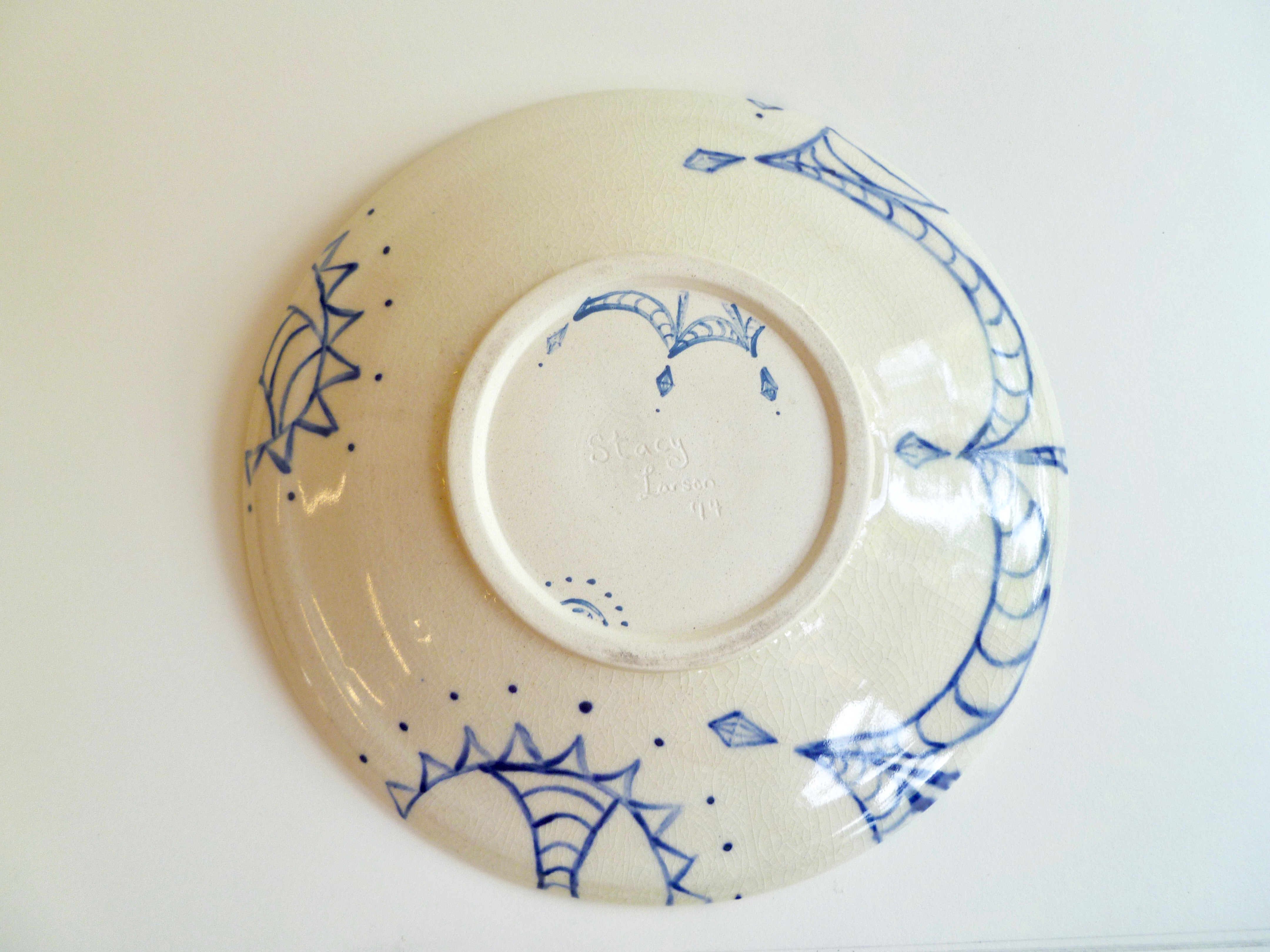 Fun Design Plate (back)