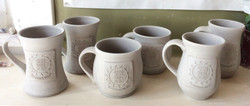 Greenware Mugs