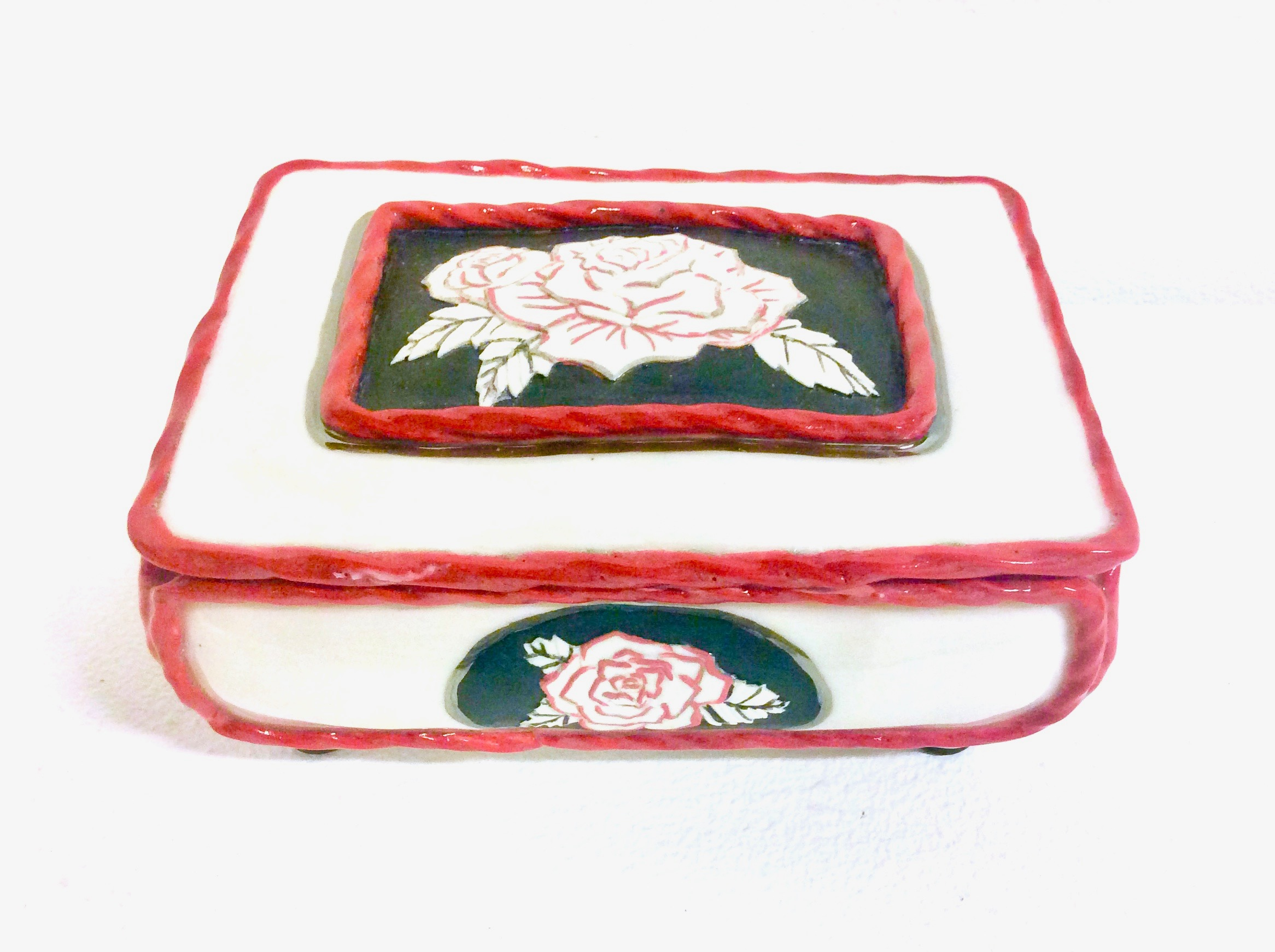 Victorian Cameo Jewelry Box