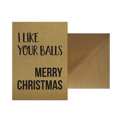 Merry Christmas + enveloppe