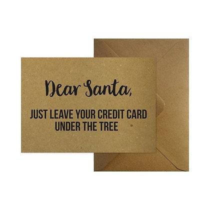 Dear Santa + enveloppe