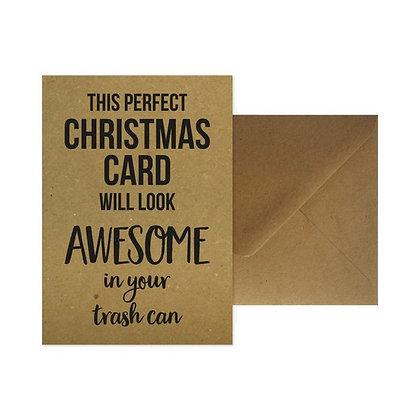 Christmas Card + enveloppe