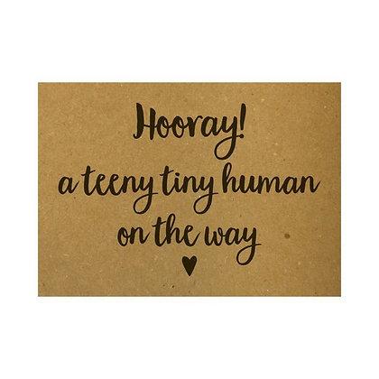 Hooray! A teeny tiny human