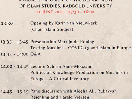 Annual Symposium of the department of Islam studies, Radboud University
