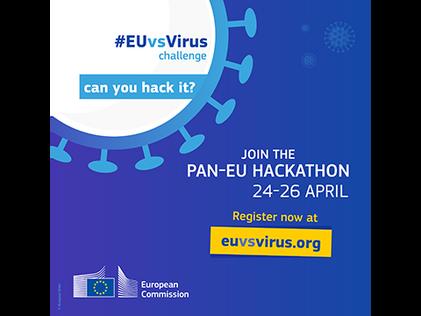 #EUvsVirus pan-European hackathon