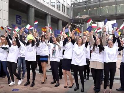 Flashmob #Thistimeimvoting