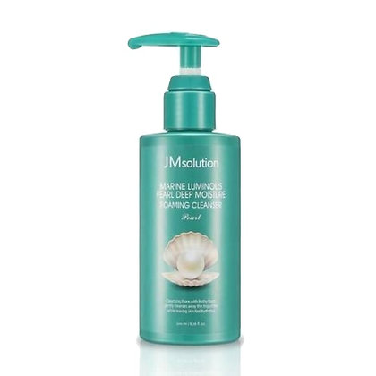 Мусс для умывания JM Solution Marine Luminous Pearl Moisture Foaming Cleanser
