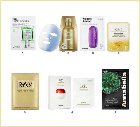 Набор масок №22 для интенсивного омоложения кожи