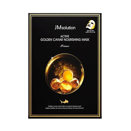 Маска для лица JM Solution Active Golden Caviar Nourishing Mask