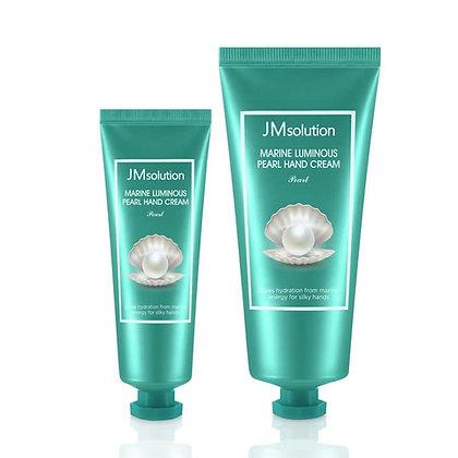 Крем для рук JM Solution Marine Luminous Pearl Hand Cream 50мл+100мл