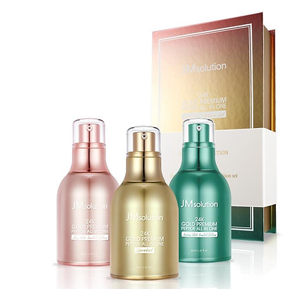Набор JM Solution 24K GOLD PREMIUM PEPTIDE ALL IN ONE Limited Edition Set