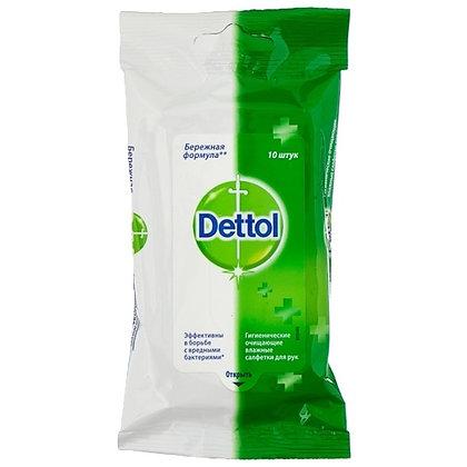 Влажные салфетки Dettol антибактериальные (10шт.)