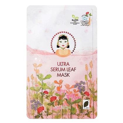 Маска для лица A. by BOM Ultra Serum Leaf Mask