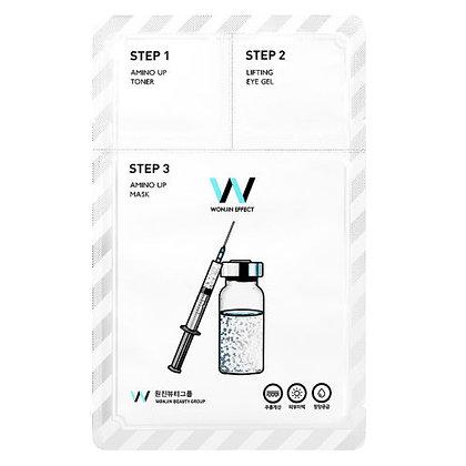 Маска для лица Wonjin Effect Amino Up 3 в 1 укрепляющая