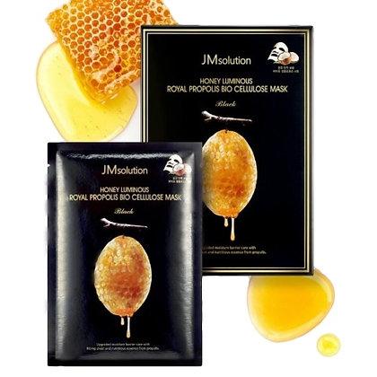 Маска для лица JM Solution Honey Luminous Royal Propolis Bio Cellulose Mask