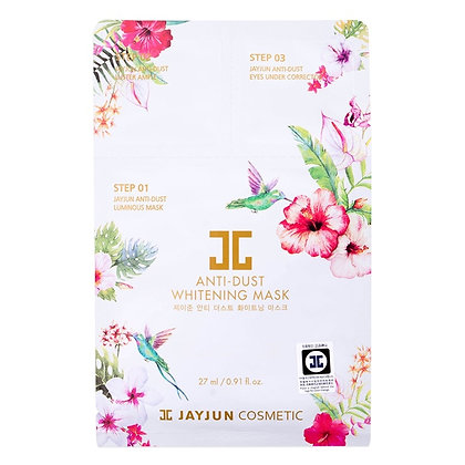 Маска для лица JAYJUN Cosmetic Anti-Dust Whitening Mask 3 в 1