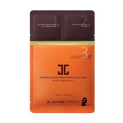 Маска для лица JAYJUN Cosmetic Real Water Brightening Black Mask 3 в 1